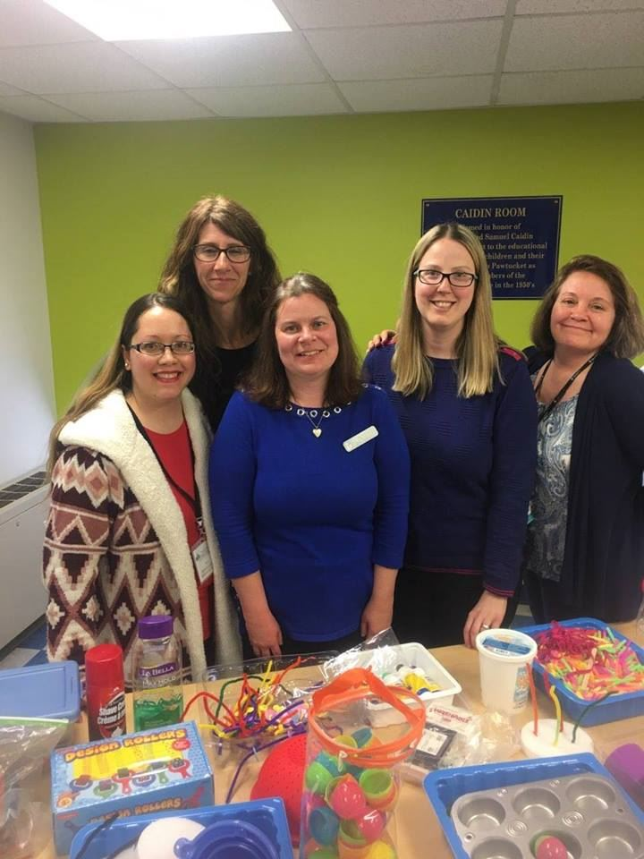 1st Sensory Story Time Support Group at the Pawtucket Public Library