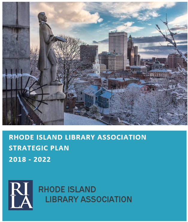 RI Library Association Strategic Plan Icon